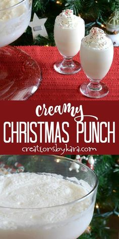 This Creamy Christmas Punch will be a hit at any holiday gathering! It is easy to make, and so delic This Creamy Christmas Punch will be a hit at any holiday gathering! It is. Christmas Snacks, Christmas Cocktails, Christmas Cooking, Holiday Drinks, Christmas Desserts, Holiday Treats, Holiday Recipes, Christmas Cakes, Christmas Recipes