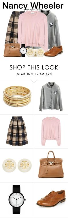 """""""Nancy Wheeler - Stranger Things"""" by nerd-ville ❤ liked on Polyvore featuring…"""