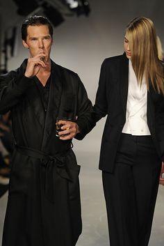 Spencer Hart Men's RTW Spring 2013 Loving this Black Robe