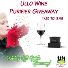 Cassandra M's Place: Ullo Wine Purifier Giveaway