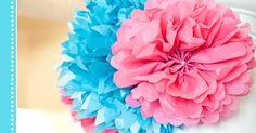 Veja como fazer pompom de papel de seda a aprenda diferentes formas de usá-lo na decoração.
