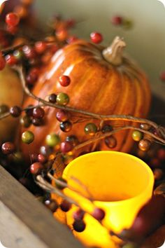 A quick and easy #tutorial on #Fall #decorating