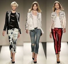 Punk-Street-Chic with Balmain spring-summer collection