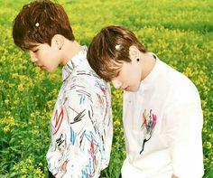 Park Jimin & Jeon Jungkook of BTS. I ship them in a purely platonic relationship. Bts Hyyh, Jimin Jungkook, Bts Bangtan Boy, Jikook, Hoseok, Seokjin, Namjoon, Wattpad, Otp