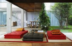 What is it about Brazillian design that makes it so hot?! It's bold and brash, brave and beauti...