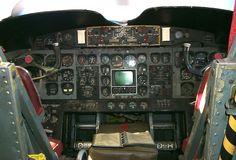 "DeHavilland C-7A ""Caribou"" cockpit"
