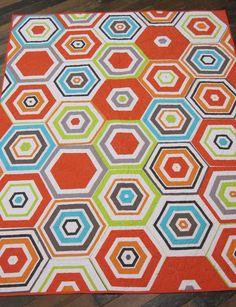 Big Hexagon Quilt