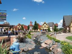 Frankenmuth Village, Michigan