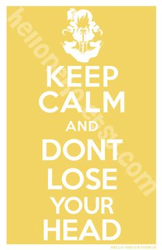 Keep Calm  Mami Tomoe Poster by helloneko on Etsy, $10.00