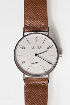 Some watches cost$36,440and are worth every penny. Other watches, like the Nomos Tangente, cost $2,330 and make you wonder why more companies can't (or won't) produce models offering this much value. The Tangente is the type of watch that makes writing this column easy. A little too easy. At this price point, there's no other modern brand that gets design, manufacturing, and quality consistently right – across a range of models, to boot. The Tangente is minimal without being sterile…