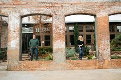 Engagement Photo By Tucker Images. The Cotton Mill, McKinney, Tx. Meridith and Zane.