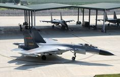 """Chinese PLA Shenyang J-11 """"Flanker B"""". Chinese produced version of the Russian Sukhoi Su-27."""