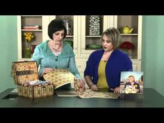 Make-it-Your-Own Challenge w/ LeAnn Ostergaard - DIY Card Storage Chest inspired by the Kristine McKay Signature Series Idea Book!
