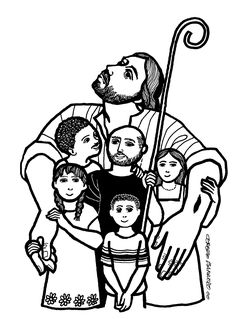 Evangelio según san Juan (10,27-30), del domingo, 17 de abril de 2016