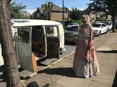 Need wedding car hire in Greenwich? Take a look at our unusual wedding car, a beautiful vintage VW wedding van. Wedding Vans, Wedding Car Hire, Wedding Company, London Bride, London Wedding, Vw Campervan Hire, Quirky Wedding, White Vans, Retro Cars