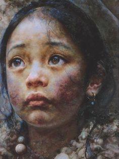"""Tibetan girls"" by Aixuan"