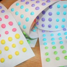 Homemade Candy Button Recipe: This was really easy, we had all the stuff to make these. Turned out really good the next day. And I couldn't believe how much they tasted like actual candy buttons.