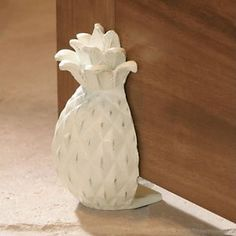 Cast Iron Doorstop - Pineapple - Fleur de Lis - Cream or Rust Pineapple Kitchen, Pineapple Farm, Southern Homes, Do It Yourself Home, My New Room, My Dream Home, Home Accessories, Home Goods, Sweet Home