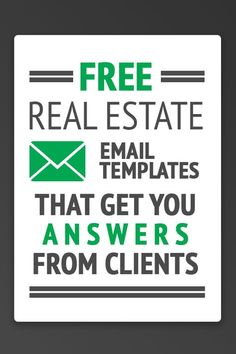 13 Free Real Estate Email Templates That Get You Answers- Need real estate email templates that will get your leads to reply? Check out these scripts to increase your lead conversion today! You can copy + paste them right into your CRM. Real Estate Business Plan, Real Estate Career, Real Estate Leads, Selling Real Estate, Real Estate Investing, Business Planning, Online Real Estate, Real Estate Office, Investing Money