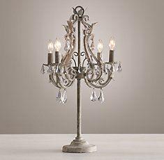Chandelier Table Lamp, Bedside Table Chandelier Lamps