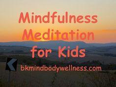 Mindfulness Meditation for Kids - YouTube