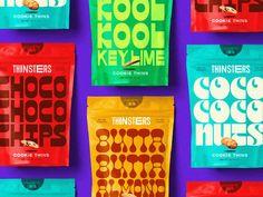 Thinsters by Joshuah X. Miranda on Dribbble Cookies Branding, Cookie Packaging, Food Packaging, Brand Packaging, Packaging Design, Branding Design, Product Packaging, Luxury Branding, Online Printing Companies