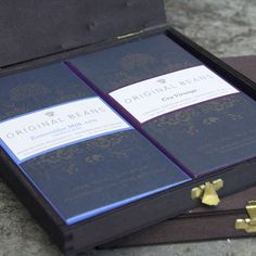 hochwertige Schokolade in Geschenk Verpackung