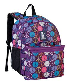5e8398a323 Take a look at this Purple Peace BOGO Backpack by Wildkin on  zulily today!