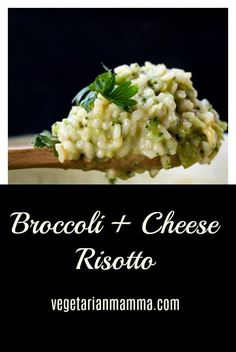 4 Points About Vintage And Standard Elizabethan Cooking Recipes! Broccoli And Cheese Risotto Recipes Risotto Side Dish Meatless Meals Vegetarian Recipes Gluten Free Recipes Vegetarian Mamma Gluten Free Vegetarian Recipes, Dairy Free Recipes, New Recipes, Cooking Recipes, Healthy Side Dishes, Vegan Dishes, Side Dish Recipes, Broccoli Risotto Recipe, Spinach Risotto