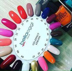 Esmalte em Gel BellaOggi São 24 cores Entrega em todo o Brasil http://online.hinode.com.br/404608