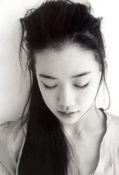 yu aoi (The vulnerability and modestly downturned eyes remind me of Suzume)