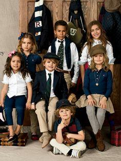 Ralph Lauren back to school outfits. Www.ralphlauren.com