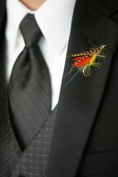 fly for boutonniere