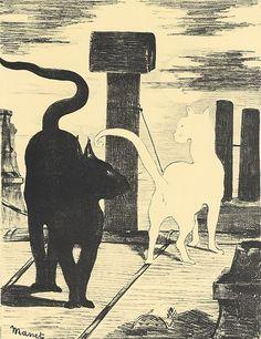 Manet - Das Rendezvous der Katzen