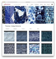 The Future of Buying & Selling Textile Designs - Buy Your Spring/Summer 2017 Collection Online Color Patterns, Print Patterns, Textile World, Indigo Prints, Future Trends, Buy Fabric, New Fashion Trends, Future Fashion, Pattern Mixing