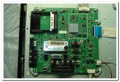 Телевизор включается с пульта и локальной клавиатуры без подсветки. Реакция на пульт и клавиатуру адекватная. Переходит в дежурный режим и обратно, судя по свечению светодиода на передней панели. Изоб...