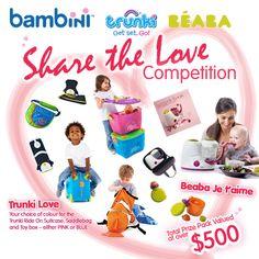 Win a Trunki and Beaba MEGA HAMPER worth over $500!