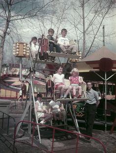 Jefferson Beach Amusement Park: St. Clair Shores, 1957