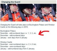Changing the Guard schedule