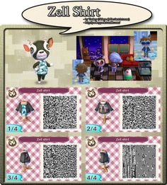 Zell Shirt - QR Code by YookeyYook