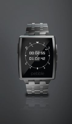 Game changer – Pebble Steel Smart Watch for Select iOS and Android Device at Best Buy