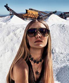 Versace S/S 2016 : Gigi Hadid by Steven Klein