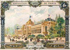 Exposition Universelle de 1900. Le Palais des Beaux-Arts.