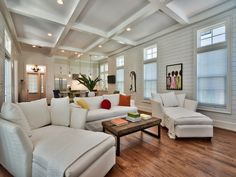 Chi-Mar Construction living room in WaterSound, Florida. http://chimarconstruction.com/