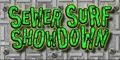 Teenage Mutant Ninja Turtles Sewer Surf Showdown game online