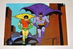 RARE Vintage Original 1966 Batman Robin Adam West TV Show Series Poster 1 1960'S | eBay