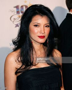 Actress Kelly Hu arrives at the annual Night Of 100 Stars awards gala at Beverly Hills Hotel on February 2011 in Beverly Hills, California. Kelly Hu, Aquarius, Sagittarius, Hollywood Actresses, Actors & Actresses, Beautiful Women Over 40, Beautiful Ladies, Miss Teen Usa, Best Kisses