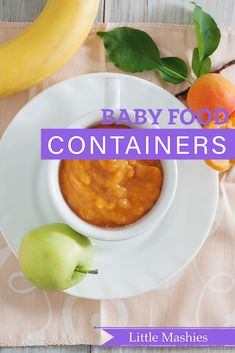Little Mashies Apple, Apricot & Banana Puree - Beat Baby Food containers 2018 Little Mashies refillable squeeze pouches