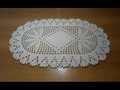 tapete de crochê oval em barbante parte 1 - crochet rug - alfombra de ganchillo - YouTube