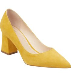 check out 89827 021aa  Zala  Pump, Main, color, YELLOW SUEDE Zapatos Bonitos, Zapatero,